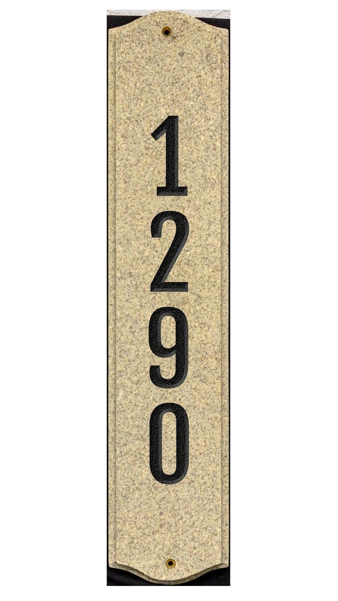 Vertical engraved plaque online